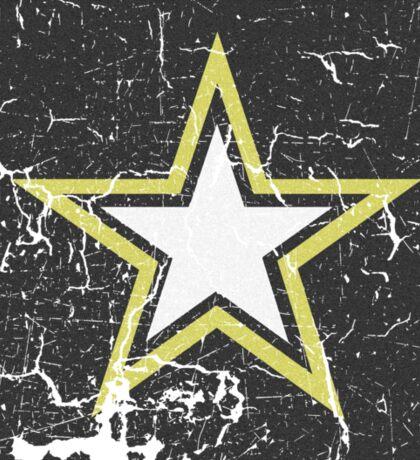 Vintage Look US Army Star Logo  Sticker