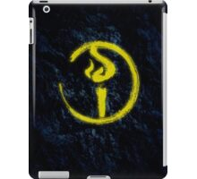 Light Bearer Symbol With Black Background iPad Case/Skin