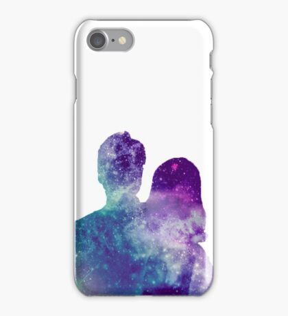 The xfiles galaxy iPhone Case/Skin