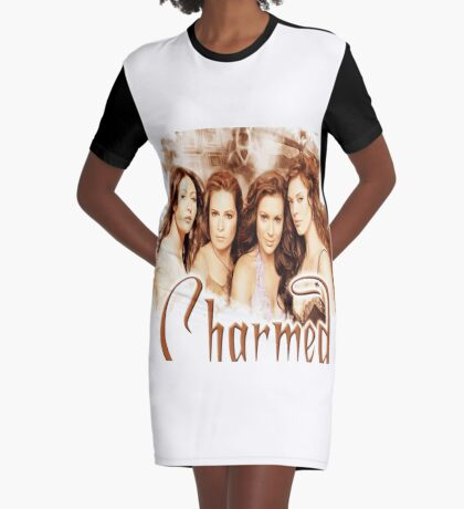 Charmed sister cast Graphic T-Shirt Dress