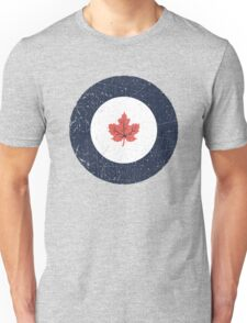 Vintage Look WW2 Royal Canadian Air Force Roundel Unisex T-Shirt
