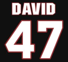 NFL Player David Hinds fortyseven 47 by imsport