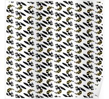 Yellow Jacket Insect Print Poster