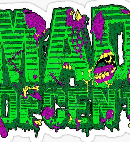 Mad decent Sticker