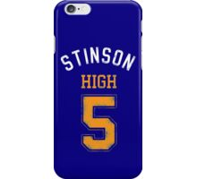 STINSON HIGH 5 (second version) iPhone Case/Skin
