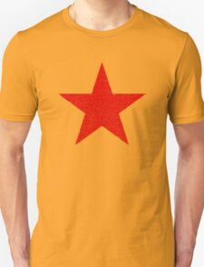 Vintage Look Russian Red Star Unisex T-Shirt