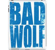 BAD WOLF (BLUE) iPad Case/Skin