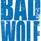 BAD WOLF (BLUE) by Penelope Barbalios