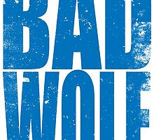 BAD WOLF (BLUE) by Penelope Barbalios