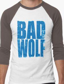 BAD WOLF (BLUE) Men's Baseball ¾ T-Shirt