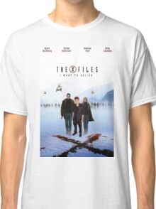 The X Files Justin Bieber Classic T-Shirt