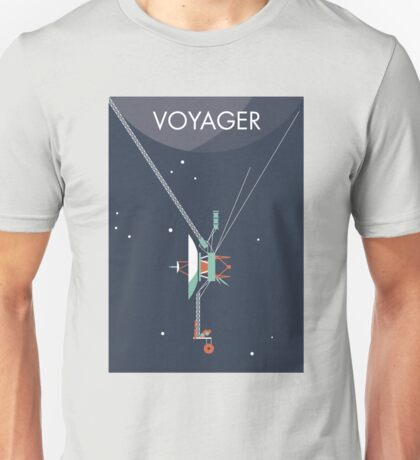 Voyager program space probe Unisex T-Shirt