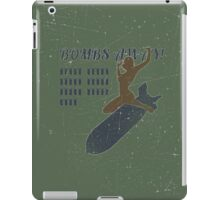 Vintage Look Bombs Away Pin-up Girl Art iPad Case/Skin