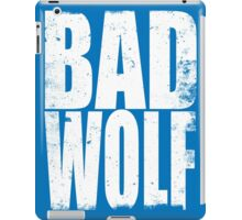 BAD WOLF (WHITE) iPad Case/Skin