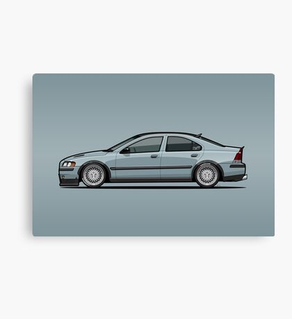 Taylor's Low Platinum Green Volvo S60 T5 P20  Canvas Print