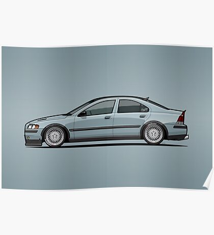 Taylor's Low Platinum Green Volvo S60 T5 P20  Poster