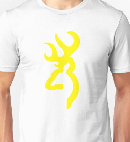 Browning - Yellow Unisex T-Shirt