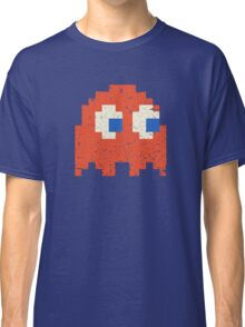 Vintage Look Arcade Pixel Ghost Man  Classic T-Shirt
