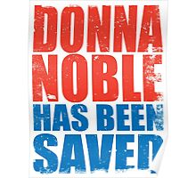 Donna Noble has been SAVED Poster