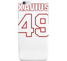 NFL Player Xavius Boyd fortynine 49 iPhone Case/Skin