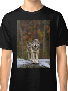 Double Trouble - Timber Wolves Classic T-Shirt