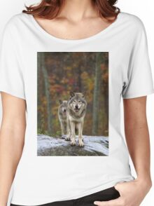 Double Trouble - Timber Wolves Women's Relaxed Fit T-Shirt