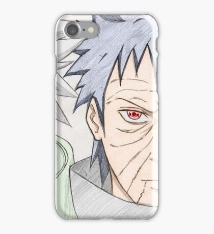 Kakashi et Obito iPhone Case/Skin
