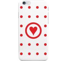 Polka dot affair iPhone Case/Skin