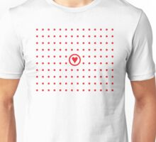 Polka dot affair Unisex T-Shirt