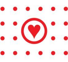 Polka dot affair Sticker