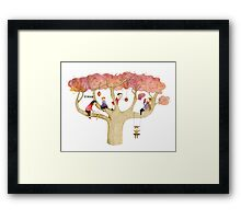 Playing In The Tree Framed Print
