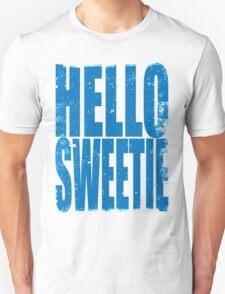 HELLO SWEETIE (BLUE) T-Shirt
