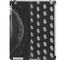 Woodstock Typewriter Study 1 iPad Case/Skin