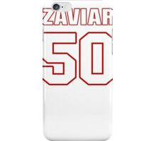 NFL Player Zaviar Gooden fifty 50 iPhone Case/Skin