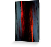 Spatial Abstraction Greeting Card