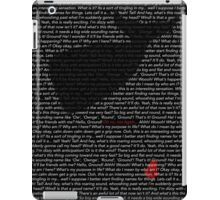 The Whale and the Bowl of Petunias iPad Case/Skin