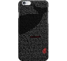 The Whale and the Bowl of Petunias iPhone Case/Skin