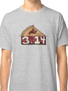 Pi Pie - Fun Math Pun Classic T-Shirt