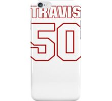 NFL Player Travis Lewis fifty 50 iPhone Case/Skin