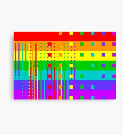 Graphic Rainbow IV Canvas Print
