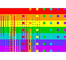 Graphic Rainbow IV Photographic Print