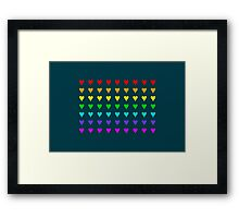 Love Is All Around III Framed Print