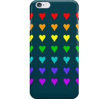 Love Is All Around III iPhone Case/Skin