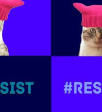Resist (all 4) Sticker