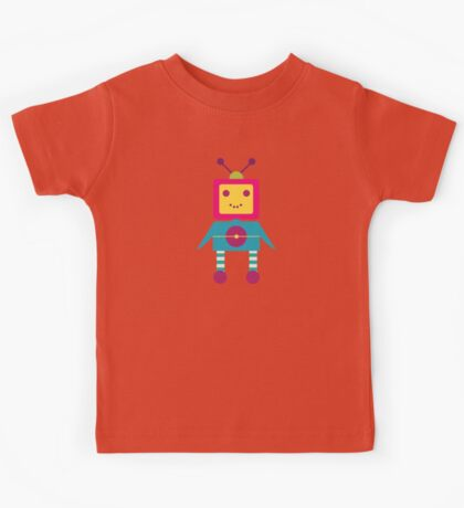 MY ROBOT FRIEND - 4 Kids Tee