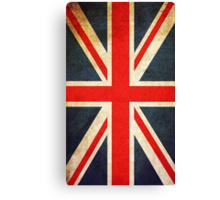 Vintage Grunge Union Jack Flag Canvas Print