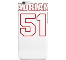 NFL Player Adrian Hamilton fiftyone 51 iPhone Case/Skin