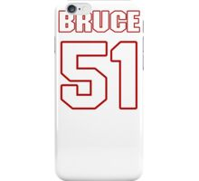 NFL Player Bruce Irvin fiftyone 51 iPhone Case/Skin