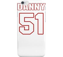 NFL Player Danny Lansanah fiftyone 51 iPhone Case/Skin