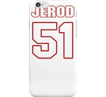 NFL Player Jerod Mayo fiftyone 51 iPhone Case/Skin